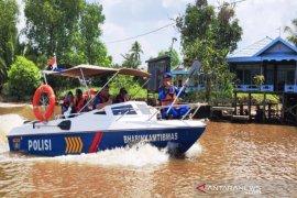 "Patroli gabungan cegah aksi ""illegal fishing"" di Sungai"