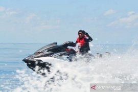 Kapolda Maluku kunjungi pulau Banda hanya gunakan jet ski