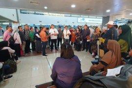 Penerbangan Sriwijaya Padang-Jakarta batal picu kericuhan penumpang
