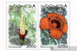 Dua bunga langka Bengkulu jadi prangko nasional 2019