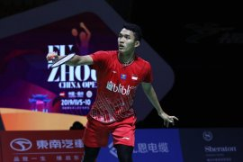Empat wakil Indonesia lolos perempat final Fuzhou China Open 2019