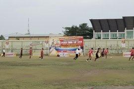"Para juara kabupaten/kota berlaga di festival sepakbola ""Paman Birin Cup"""