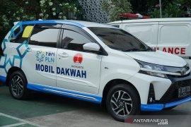 YBM-PLN bagikan tiga unit mobil dan ribuan paket sembako