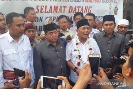 Ahmad Zamakhsyari daftar bakal calon bupati Karawang ke Gerindra