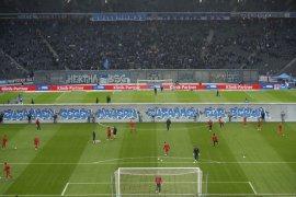Liga Jerman: Hertha buat replika Tembok Berlin untuk peringati 30 tahun keruntuhan