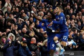 Chelsea merangsek ke posisi kedua usai tundukkan Crystal Palace