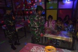 Patroli TNI-Polri di Gorontalo Utara sisir tempat hiburan malam