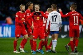 Hasil Liga Jerman: Leipzig lompat ke peringkat kedua usai taklukkan Hertha Berlin
