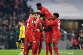 Bayern hajar Dortmund empat gol tanpa balas