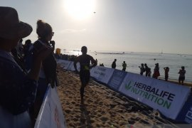 Tiga atlet Indonesia raih juara Herbalife Bali International Triathlon 2019