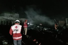 Kebakaran pasar penampungan sementara Sukabumi tidak ada unsur kesengajaan