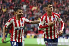 Hasil Liga Spanyol: Atletico naik posisi ketiga usai atasi Espanyol 3-1