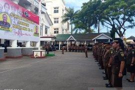 Peserta Rakerda Kejati Maluku jalani tes urin