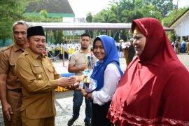 Marzuki Hamid Pimpin Upacara Hari Kesehatan Ke-55 di Langsa