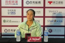 Langkah Aldila dihentikan Babos pada putaran pertama WTA