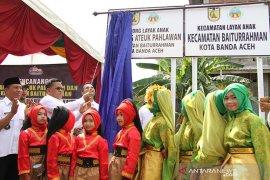 Banda Aceh telah tetapkan tujuh kecamatan dan 14 gampong layak anak