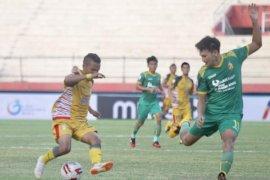 Delapan besar Liga 2: Mitra Kukar imbangi Sriwijaya FC 1-1