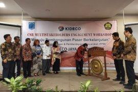 PT. Kideco Gelar CSR Multistakeholders Engagement Workshop