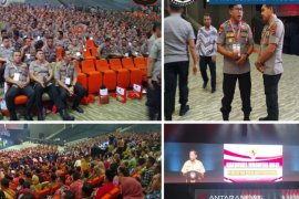 Kapolres Bangka bersama Forkopimda hadiri Rakornas Indonesia Maju