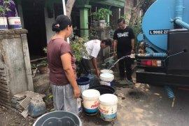 Kemarau panjang, ratusan KK di Kota Kediri masih kekurangan air