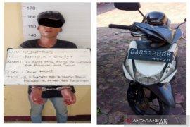 Pemuda perampas sepeda motor di parkiran masjid raya ditetapkan tersangka