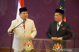 Menteri Pertahanan Prabowo kunjungi Malaysia
