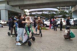YLKI desak Grab hentikan penyewaan skuter listrik, ini alasannya