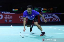 BWF Finals 2019, Anthony rebut tiket final dari Chen Long
