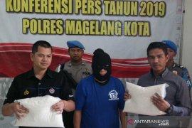 Pelaku penipuan pembelian beras ditahan Polres Magelang Kota