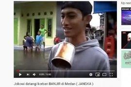 Terduga pelaku bom Medan ternyata pernah buat parodi liputan banjir di YouTube