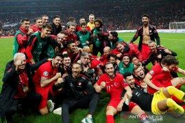Imbang lawan Islandia, Turki amankan tiket Piala Eropa
