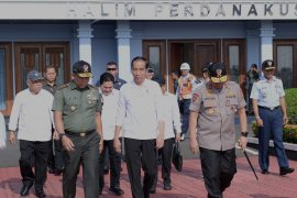 Presiden Jokowi resmikan jalan tol Sumatera  189 km