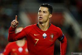 Kualifikasi Piala Eropa 2020: Hattrick Ronaldo warnai pesta gol Portugal jamu Lithuania