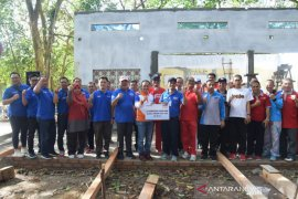Pemkab Bangka terima bantuan program padat karya BRI