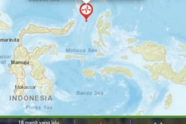 Aftershocks jolt North Maluku