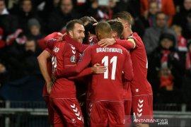 Denmark lumat Gibraltar 6-0
