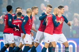 Kualifikasi Piala Eropa 2020: Meski menang, Norwegia belum pasti lolos