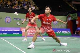 Hafiz/Gloria terhenti di semifinal Hong Kong Open