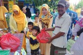 Peringati Maulid Nabi, PAUD Tamasha Valaq gelar market day dan berbagi sembako