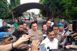 Densus 88 kembali mengamankan dua orang terduga teroris di Medan