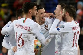 Ukraina dan Portugal lolos ke Piala Eropa 2020, Serbia playoff