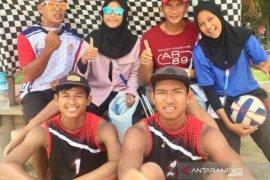 Tim voli pasir putra Babel tekuk Banten di Popnas XV