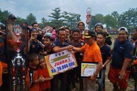 NIDS HSS juarai lomba ketangkasan pemadam Bupati HSS Cup 2019