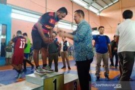 Pornas XV Korpri 2019 cabor futsal, Papua juara