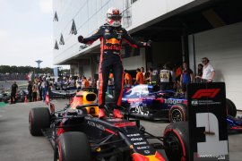 Max Verstappen juarai F1 di GP Brazil
