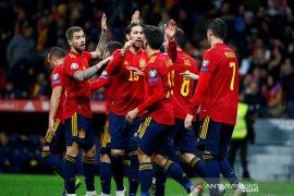 Kualifikasi Piala Eropa - Spanyol, Swedia dan Norwegia kompak tutup Grup F dengan kemenangan