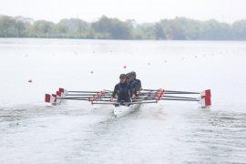 Tim Jabar, Jambi, dan Sulteng berbagi emas di dayung rowing Popnas