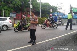 Hadirkan Polri di tengah masyarakat, Kapolresta Banjarmasin turun langsung atur lalu lintas