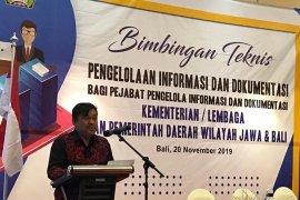 200 pejabat PID se-Jawa Bali ikuti pelatihan Pengelolaan Informasi dan Dokumentasi
