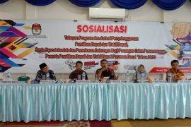 KPU Pasaman Barat tetapkan calon bupati perseorangan 21.312 dukungan